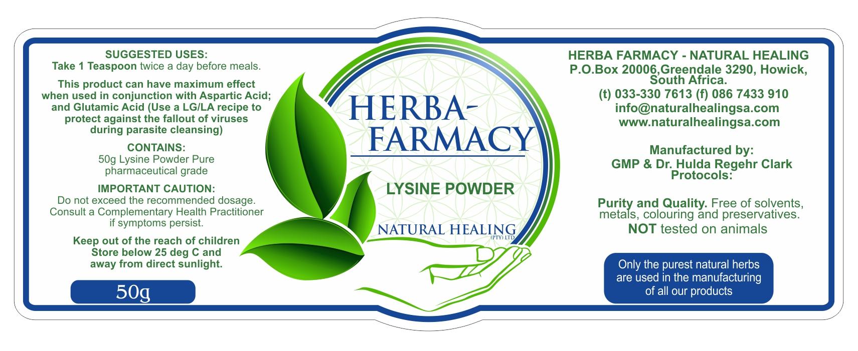 Lysine Powder 50 g