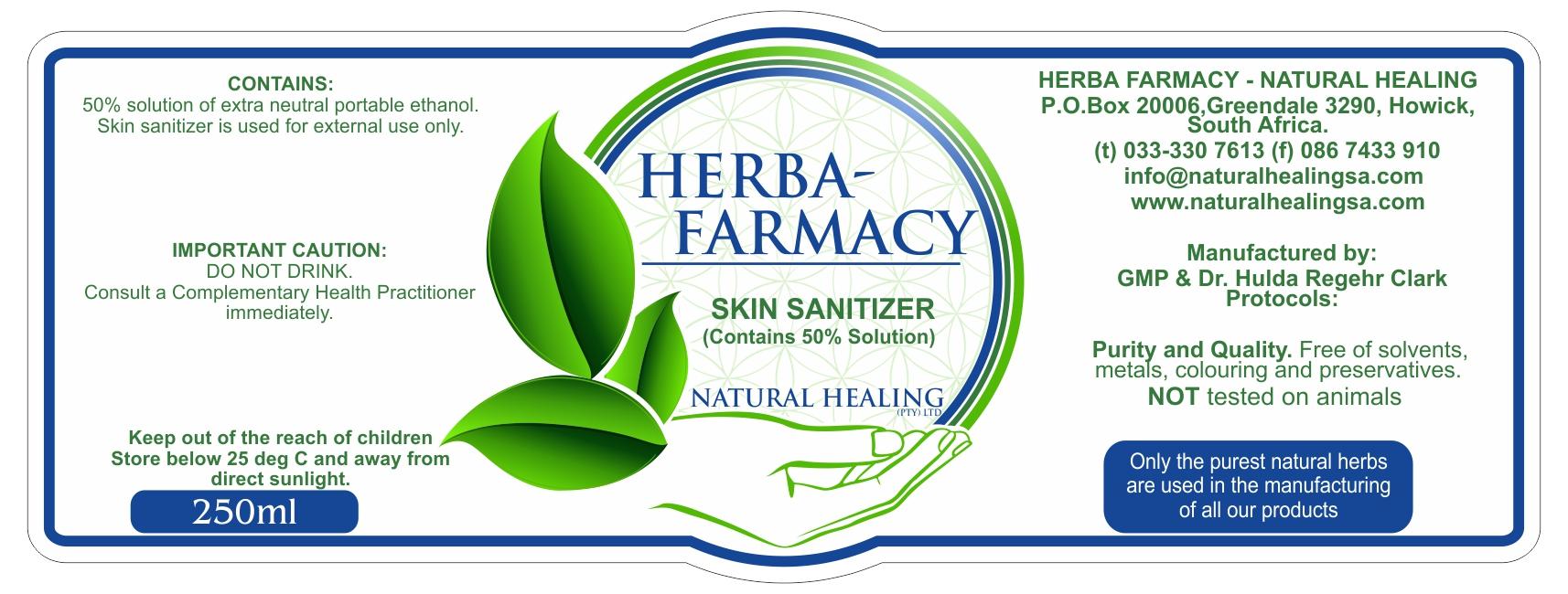 Skin Sanitizer Spray 250 ml 50%