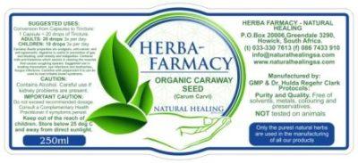 Caraway Seed Tincture 50ml