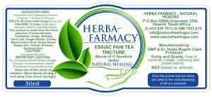 Essiac/Pain Tea Tincture 50ml