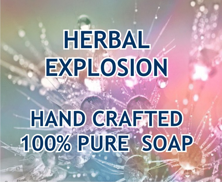 Herbal Explosion Soap Honey Bush Tea 100g