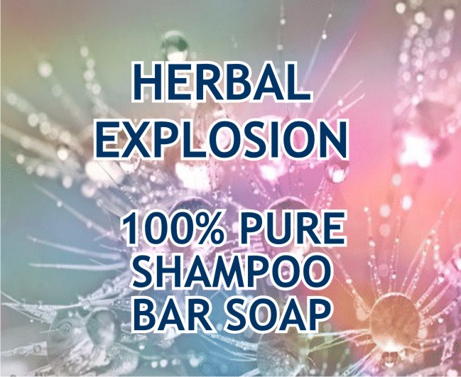 Oily Hair Shampoo Soap Bar 120g