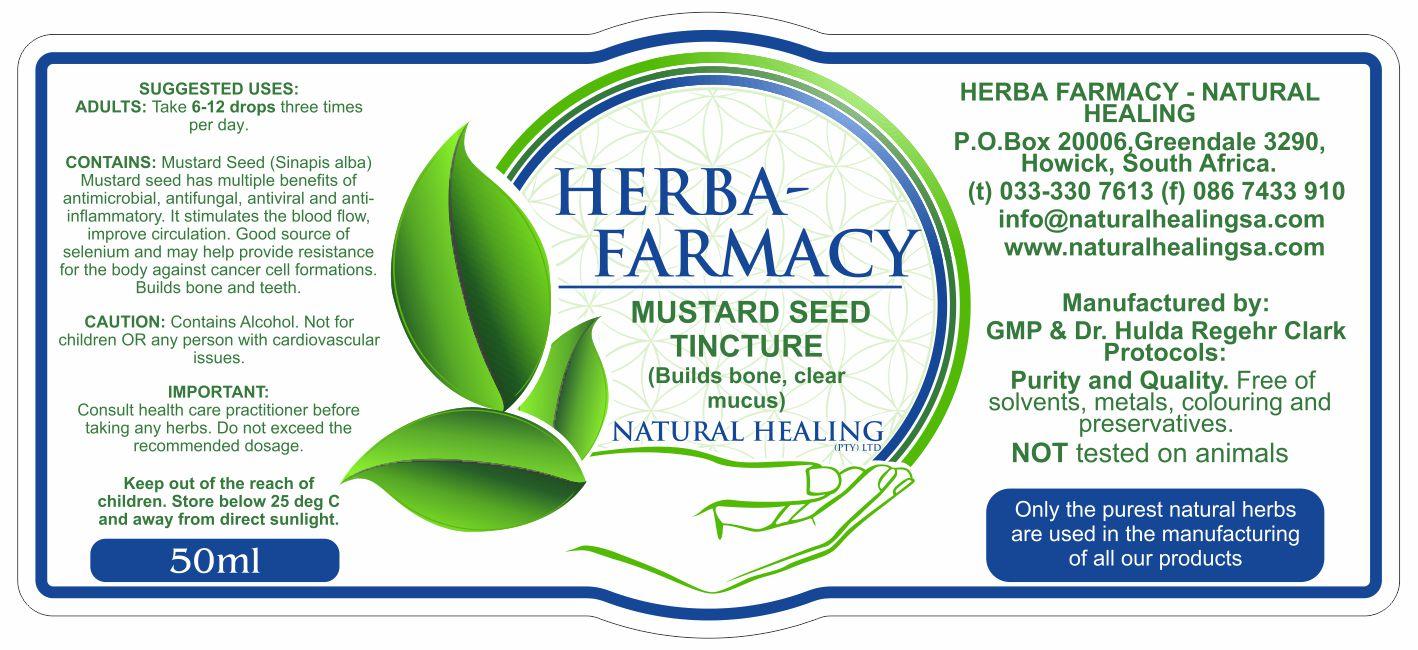 Mustard Seed Tincture 50ml