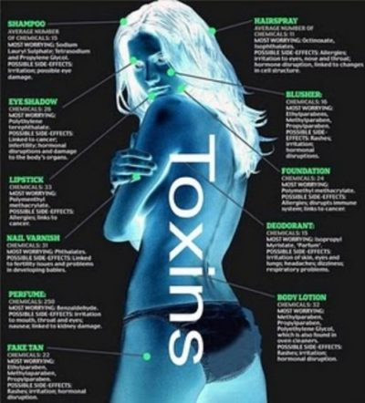 toxins human body